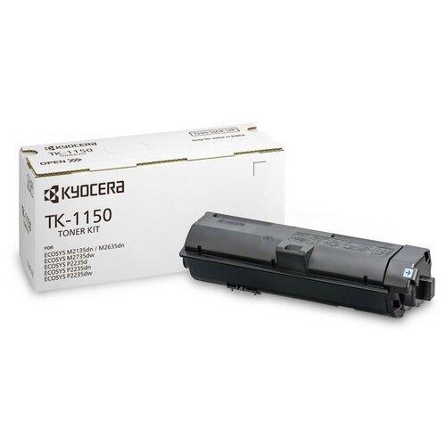 Тонер-картридж Kyocera TK-1150 (1T02RV0NL0) чер. для ECOSYS M2635/2735