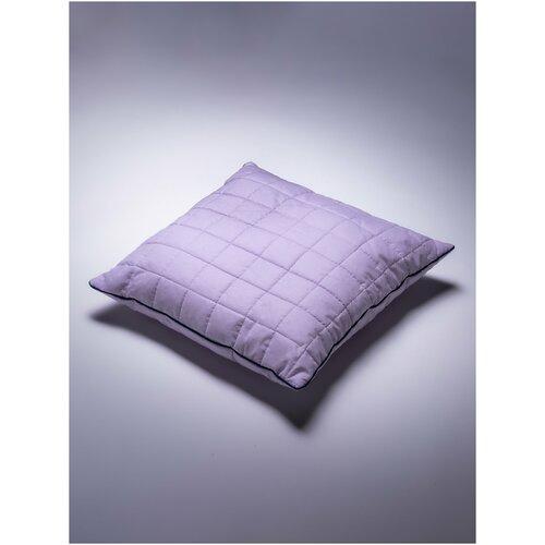 Подушка детская Соня 60х60 см Цвет Лаванда хлопок 100%