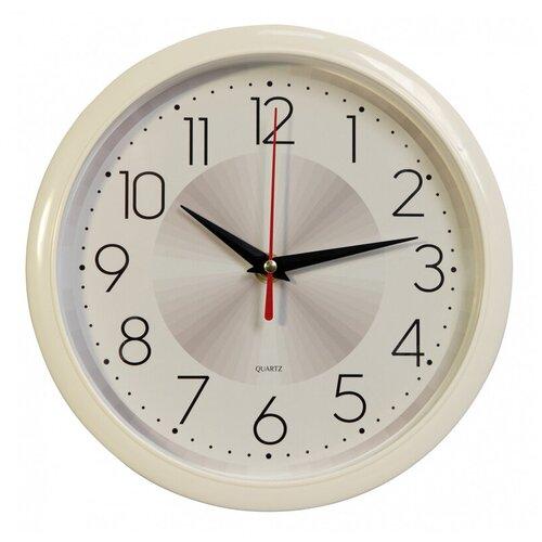 Настенные часы Бюрократ WallC-R69P белый (wallc-r69p22/white)