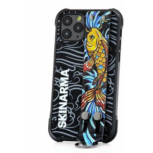 Чехол для Apple iPhone 11 Pro Skinarma Ikimono Kigoi Fish / Чехол бампер на iPhone / накладка на iPhone / защитный чехол на айфон / защитный чехол / защитный бампер для iPhone / накладка для айфона / противоударный бампер для телефона / чехол на телефон / противоударный чехол для iPhone / бампер айфон / чехол на айфон / защитный чехол / защитный бампер для iPhone / накладка для айфона / противоударный бампер для телефона / чехол на телефон