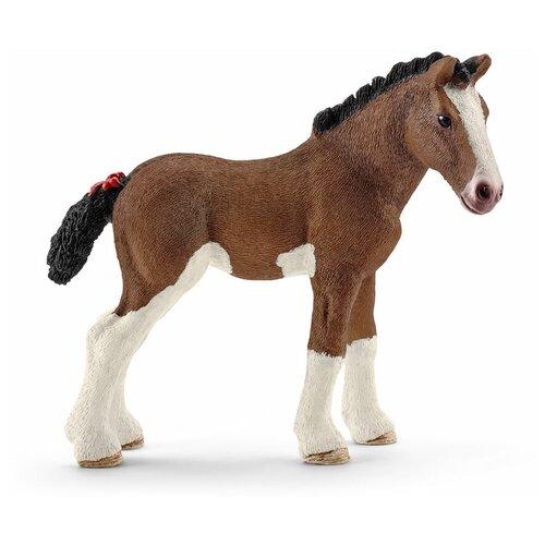 Фигурка Schleich Лошадь клайдсдейл жеребенок 13810