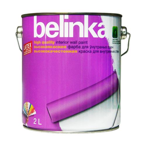 Краска латексная Belinka Latex белый 2 л