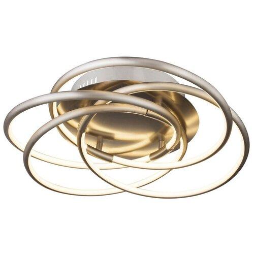 люстра светодиодная globo ina 12 вт 29 см цвет хром Люстра светодиодная Globo Lighting Barna 67828-40, LED, 40 Вт