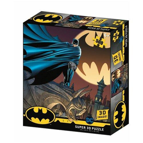 Пазл Prime 3D Super 3D Знак Бэтмена (32518), 500 дет. пазл prime 3d super 3d полет бэтмена 32521 500 дет
