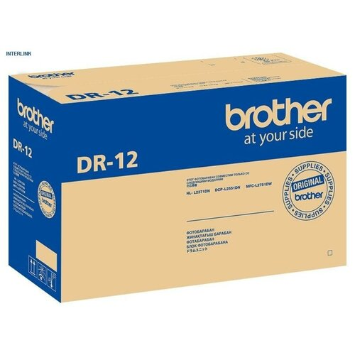Фото - Фотобарабан Brother DR-12 фотобарабан brother лазерный dr 3000