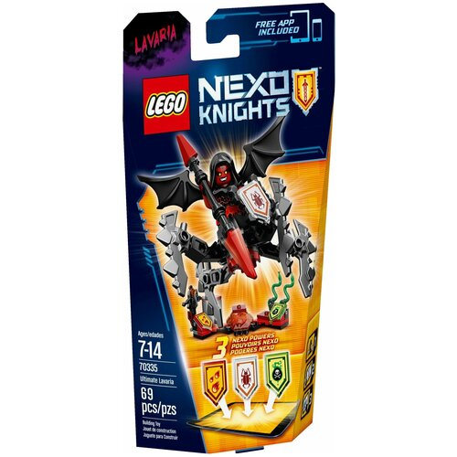 Купить Конструктор LEGO Nexo Knights 70335 Абсолютная сила Лаварии, Конструкторы