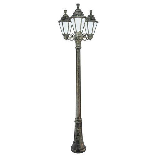 Fumagalli Уличный светильник Rut E26.156.S30.BYF1R, E27, 18 Вт, цвет арматуры: бронзовый, цвет плафона белый fumagalli уличный светильник rut e26 156 s30 wxf1rdn