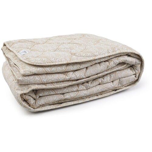 Одеяло Волшебная ночь Лён, легкое, 140 х 205 см (бежевый) по цене 1 690