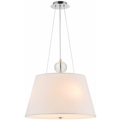Потолочный светильник MAYTONI Bergamo MOD613PL-03W, E27, 180 Вт, кол-во ламп: 3 шт., цвет арматуры: хром, цвет плафона: белый потолочный светильник maytoni bergamo mod613pl 03w e27 180 вт