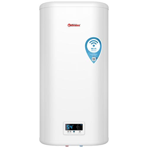 Накопительный электрический водонагреватель Thermex IF 80 V (pro) Wi-Fi, белый электрический накопительный водонагреватель thermex thermex optima 30 wi fi