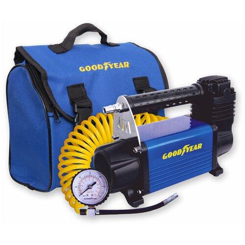 Автомобильный компрессор GOODYEAR GY-50L черный/синий