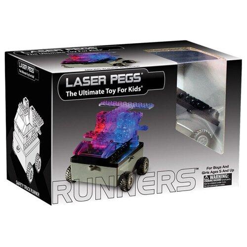 Конструктор Laser Pegs Runners RN1320A Машина 6 в 1