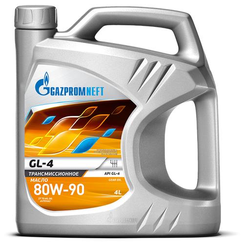 Масло трансмиссионное Газпромнефть GL-4 80W-90, 80W-90, 4 л