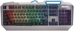 Игровая клавиатура Defender Wizard GK-230DL Silver USB