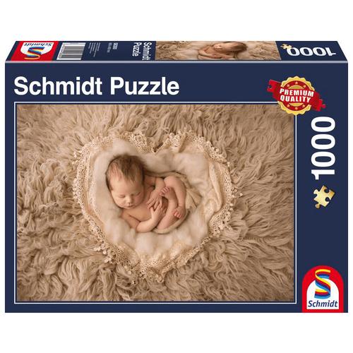 Пазл Schmidt Маленькое сердечко (58300), 1000 дет.