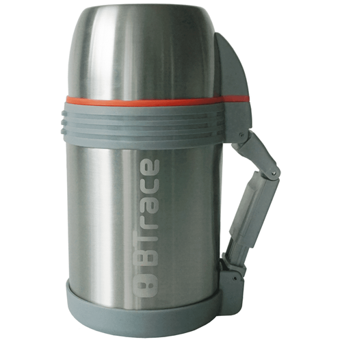 Классический термос Btrace 130-1000, 1 л серебристый