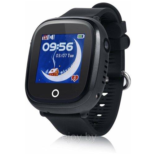 Детские умные часы Smart Baby Watch GW400X, черный детские умные часы smart baby watch t58 черный