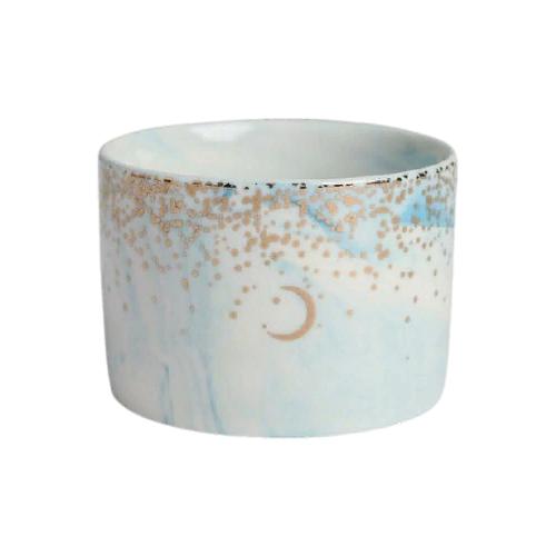 Кашпо Дарите счастье Россыпь 8 х 5,5 см голубой по цене 384