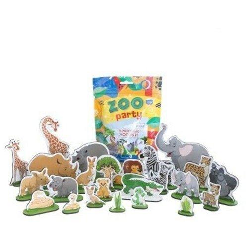 Фигурки Leader Zoo Party Животные Африки МТ60220 животные африки