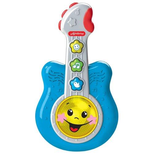 Купить Азбукварик гитара Маленький музыкант синий, Детские музыкальные инструменты