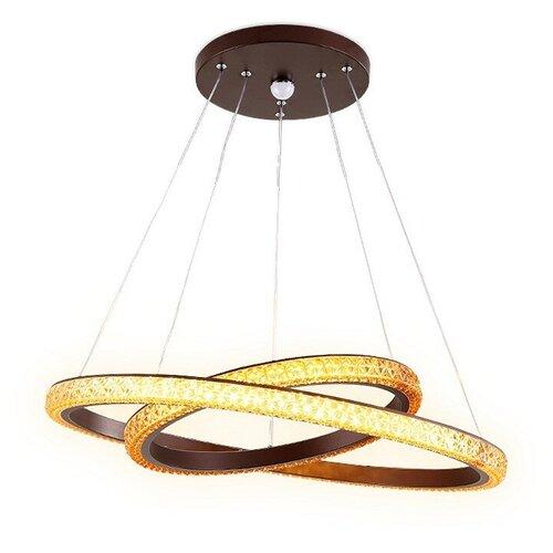 Светильник светодиодный Ambrella light Crystal FF11, LED, 108 Вт светильник ambrella light ff11 orbital crystal