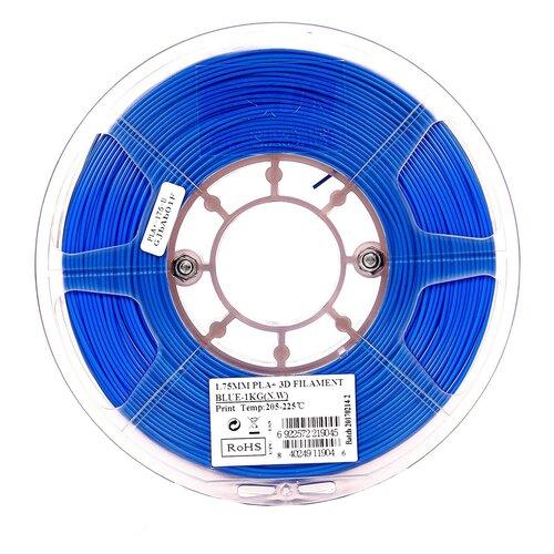 Фото - PLA+ пруток ESUN 1.75 мм, 1 кг, синий pla пруток esun 1 75 мм желтый 1 кг