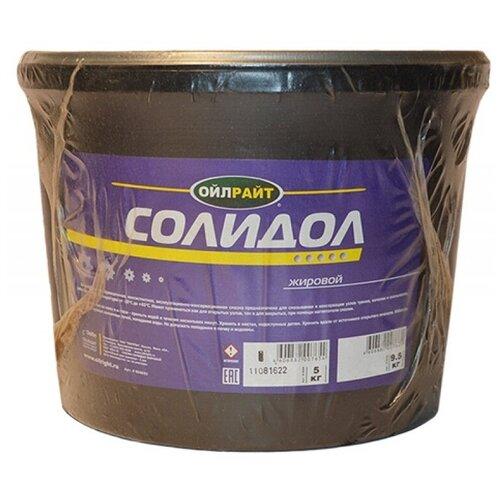 Автомобильная смазка OILRIGHT Солидол жировой 5 кг