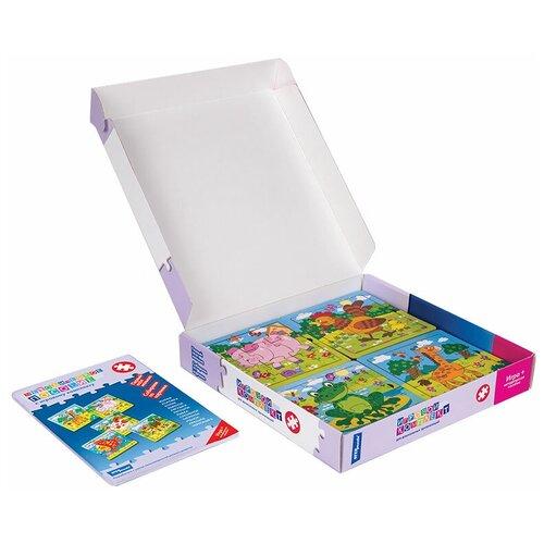 Фото - Набор рамок-вкладышей Step puzzle Игровой комплект №6 Первый пазл малыша Собираем по картинке (40101) step puzzle книжки игрушки умный паровозик игровой комплект 3