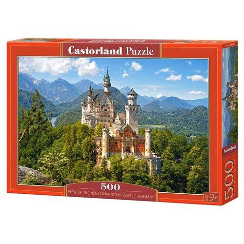 Пазл Castorland Вид на замок Нойшванштайн, Германия (B-53544), 500 дет. пазл castorland tall ship leaving harbour b 52851 500 дет