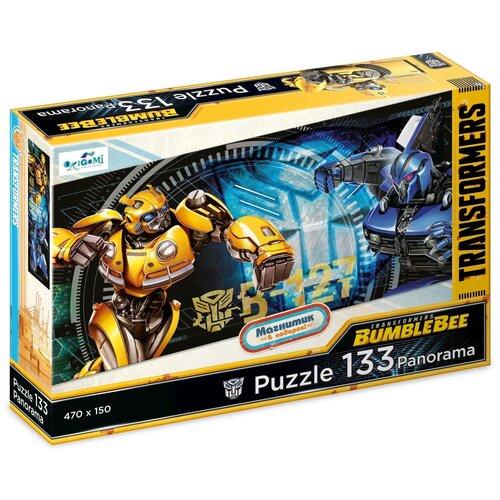 Купить Пазл Origami Панорама Трансформеры Бамблби против зла (04600), 133 дет., Пазлы