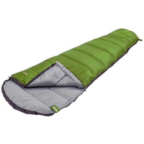 Спальный мешок Jungle Camp Scout JR зеленый с левой стороны