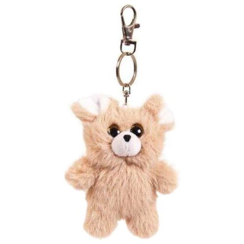 Игрушка-брелок Junfa toys Флэтси мини Мышка 9,5 см