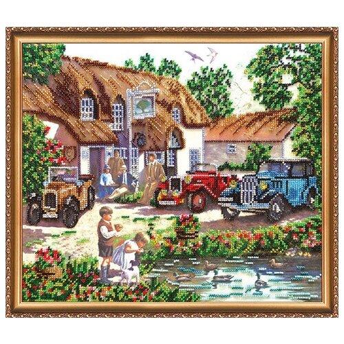 Купить Набор для вышивания бисером АБРИС АРТ AB-246 Уик-энд 35х30 см, ABRIS ART, Наборы для вышивания