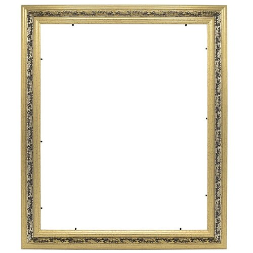 Купить Рама багетная для картины на подрамнике 40х50, VRBVZ7/золото, LaKarti, Рамки