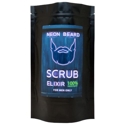 Скраб для тела NEON BEARD JAMAICAN RUM с маслами, гималайской, эпсомской и морской солью 250 гр.  - Купить