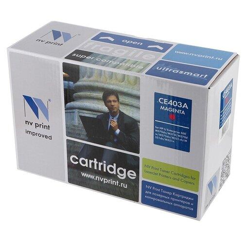 Фото - Картридж NV Print CE403A для HP, совместимый картридж nv print cf237x для hp совместимый