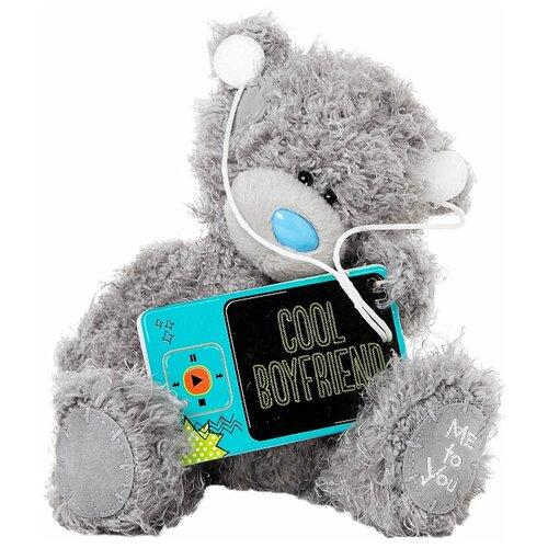Мягкая игрушка Me to you Мишка Тедди с плеером 18 см