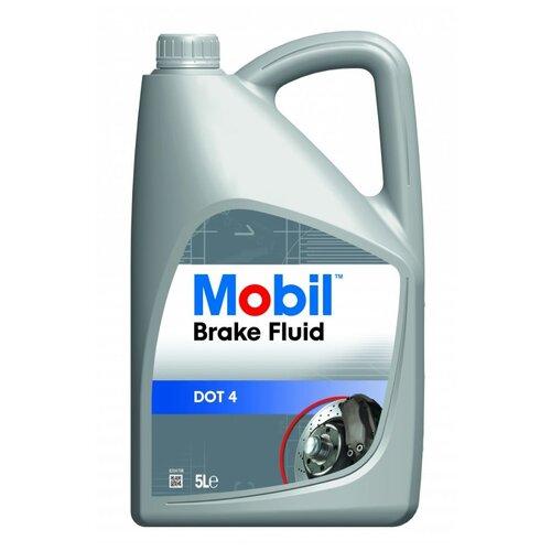 Тормозная жидкость MOBIL Brake Fluid DOT 4 (150905R) 5 л