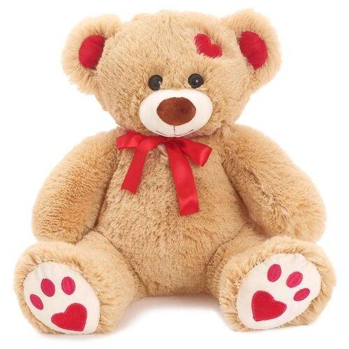Купить Мягкая игрушка Любимая игрушка Медведь Кельвин кофейный, 50 см, ЛюбиМая игрушка, Мягкие игрушки