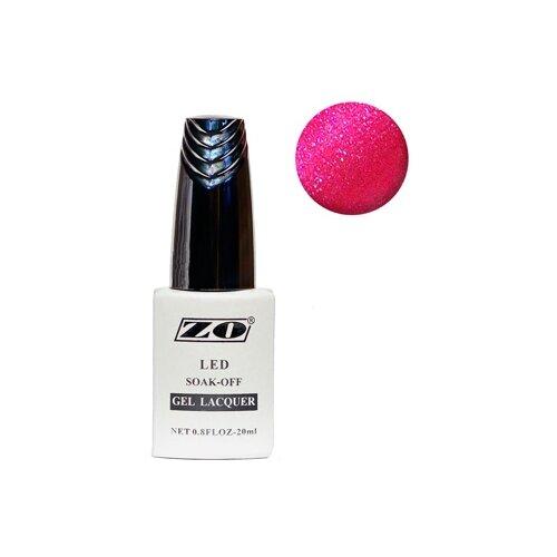 Купить Гель-лак для ногтей ZO GL, 20 мл, 147 ярко-малиновый шиммер