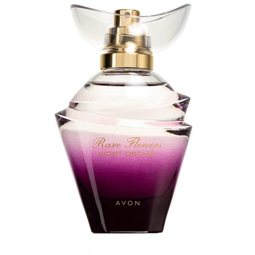 Парфюмерная вода AVON Rare Flowers Night Orchid, 50 мл avon field flowers foaming bath oil armoire decanter