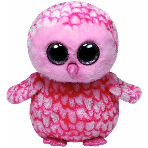 Мягкая игрушка TY Beanie boos Совёнок Pinky 23 см