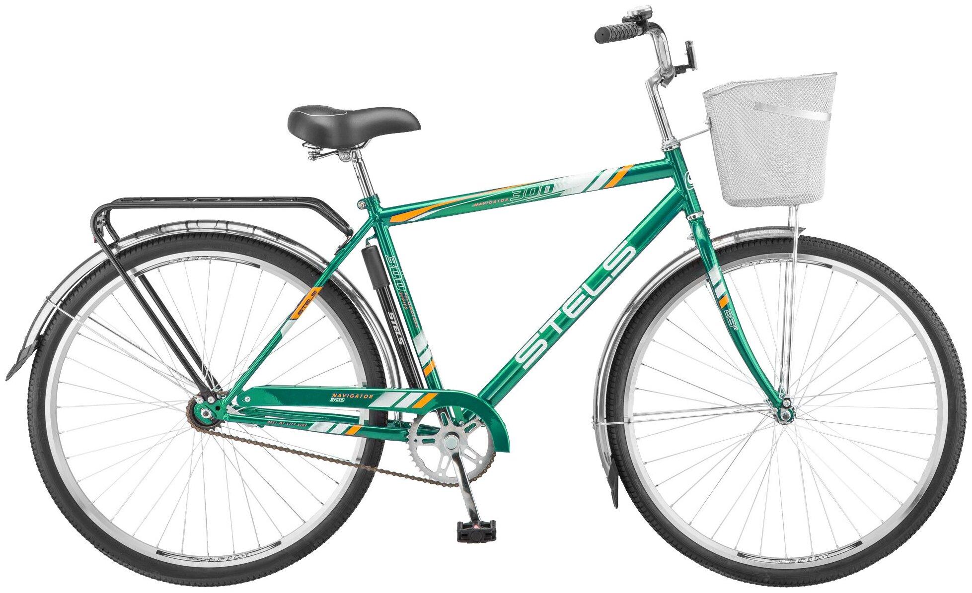 Городской велосипед STELS Navigator 300 Gent 28 Z010 (2018) зеленый 20