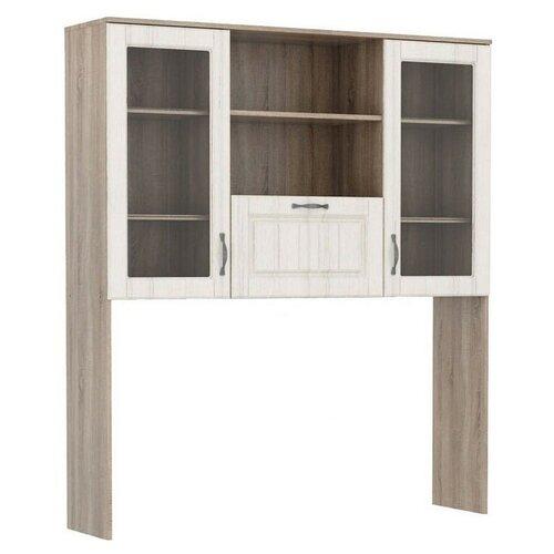 Надстройка Stolline СТЛ.272.04 для стола дуб сонома трюфель/andersen pine white