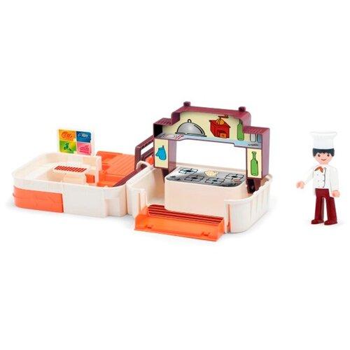 игровой набор Efko диспетчерская с фигуркой диспетчера в чемоданчике 32221EF CH