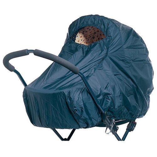 Baby Dan Защитный чехол от дождя для коляски для двойни Синий