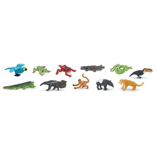 Фигурки Safari Ltd Животные влажных тропических лесов 680504