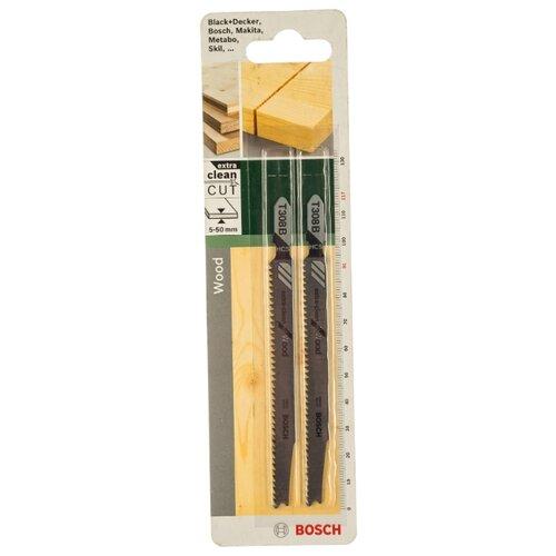 Набор пилок для ручного лобзика BOSCH 2609256A05 2 шт. набор пилок для ручного лобзика bosch 2608636335 3 шт