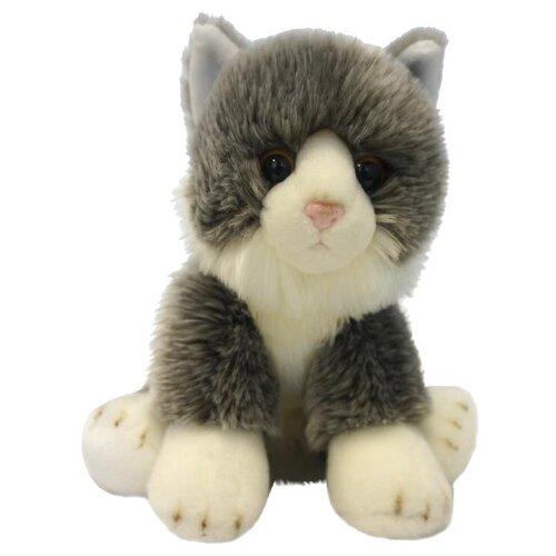 Купить Мягкая игрушка MaxiLife Котик сидячий серый 30 см, Мягкие игрушки