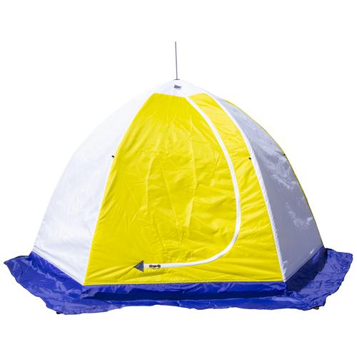 Фото - Палатка СТЭК Elite 2 (трехслойная, дышащая) белый/синий/желтый палатка jian hong замок принца 200280835 синий желтый